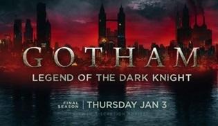Gotham dizisinin final sezonundan bir tanıtım daha yayınlandı
