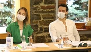 Maria ile Mustafa dizisinin okuma provaları yapıldı!