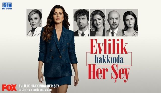 Evlilik Hakkında Her Şey dizisinin posteri yayınlandı!
