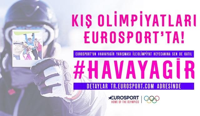 Eurosport Türk sporseverleri sosyal medyada Olimpiyat oyunlarını kutlamaya davet ediyor