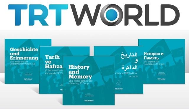 TRT World Araştırma Merkezi'nin hazırladığı 15 Temmuz kitabı 5 dilde yayınlandı!