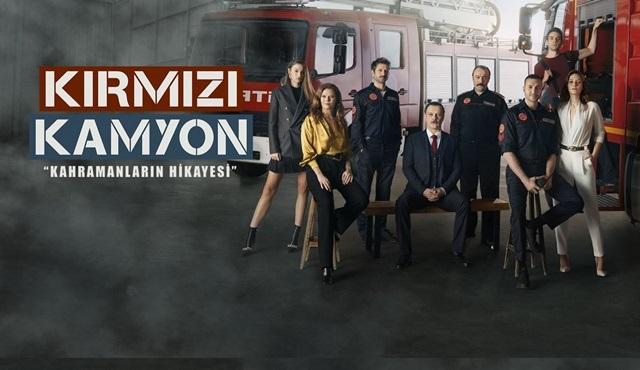 Kırmızı Kamyon dizisinin afişi yayınlandı!