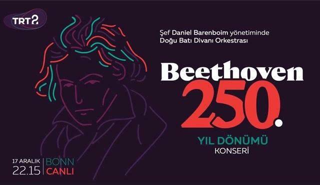 Beethoven'ın doğum günü konseri Almanya'dan canlı yayınla TRT 2'de!