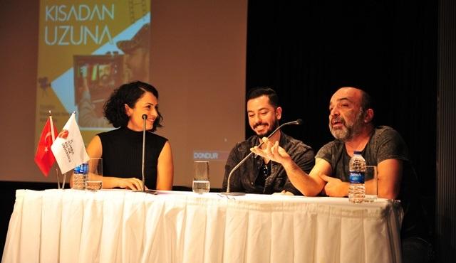 Ömer Faruk Yardımcı ve Ayhan Taş, Kültür Üniversite'si öğrencileriyle söyleşide buluştu!