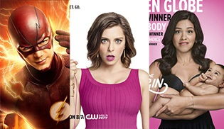 The Flash, Jane The Virgin ve Crazy Ex-Girlfriend için yeni posterler geldi