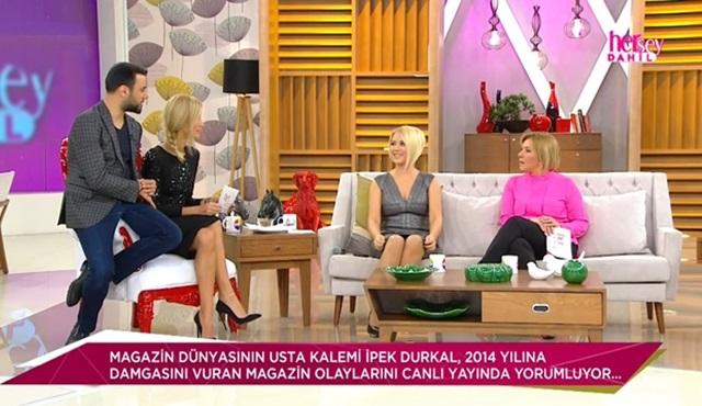 İpek Durkal, yılın magazin olaylarını değerlendirdi..