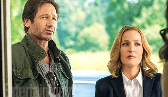 The X-Files'tan ilk fotoğraflar geldi