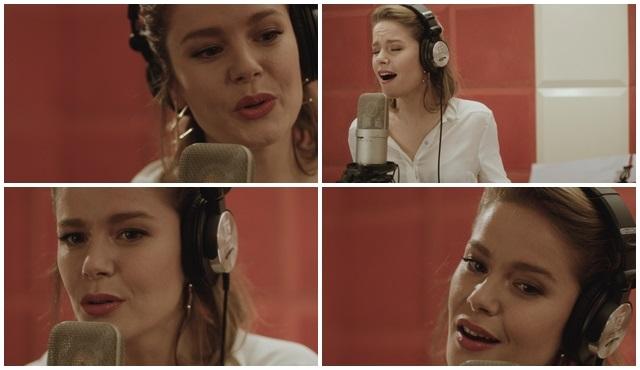 Burcu Biricik, ''Hayat Şarkısı'' için stüdyoya girdi!