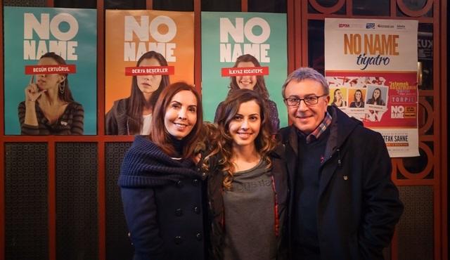 Aysun-Ali Kocatepe çiftinin kızı İlkyaz tiyatro sahnesinde!