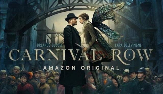 Orlando Bloom'lu ve Cara Delevinge'li Carnival Row dizisinin tanıtımı yayınlandı