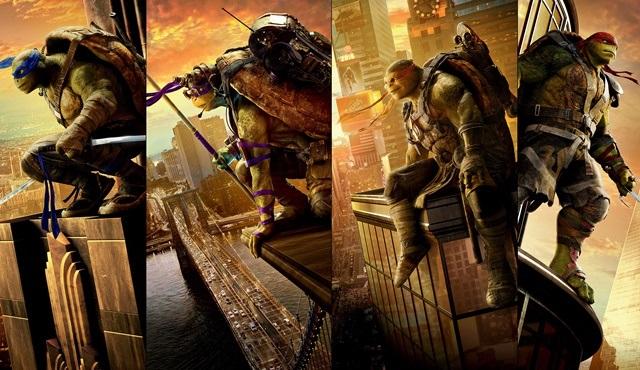 Ninja Kaplumbağalar: Gölgelerin İçinden filmi Tv'de ilk kez Star Tv'de ekrana gelecek!