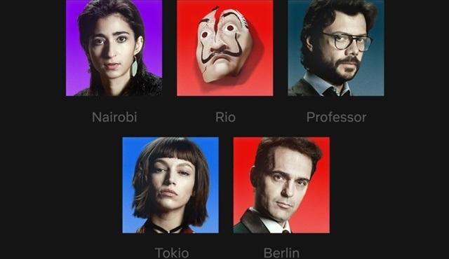Netflix'te profil simgeleri yenilendi: En sevilen karakterler artık profilinde!