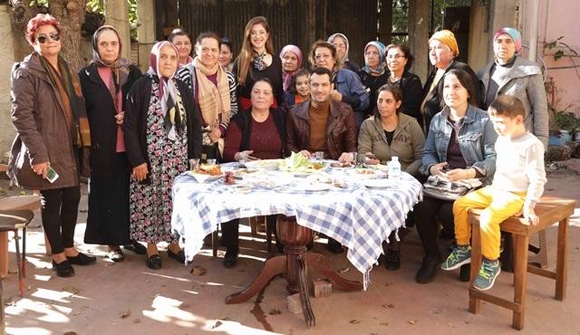 Murat Yıldırım, Ramo setinde Adanalı kadınlarla bir araya geldi!