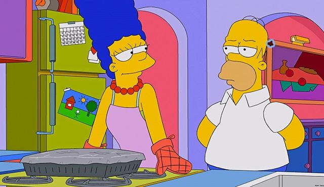 Simpsonlar boşanıyor mu?