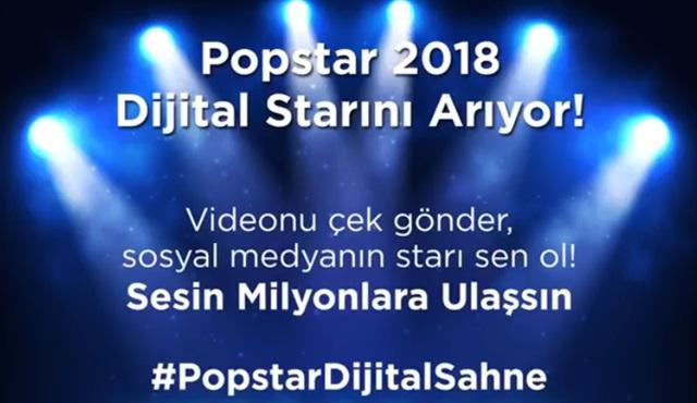 #popstardijitalsahne ile sesinin milyonlara ulaşmasını ister misin?