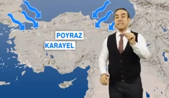 Tüm Türkiye'de Poyraz Karayel etkisi! Bu akşam evden çıkmayın!