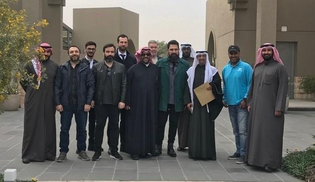 Bülent İnal, Kraliyet Ailesinin özel davetiyle Kuveyt'e gitti!