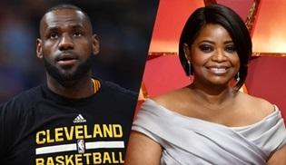 Octavia Spencer ve LeBron James yeni bir dizi için bir araya geliyor