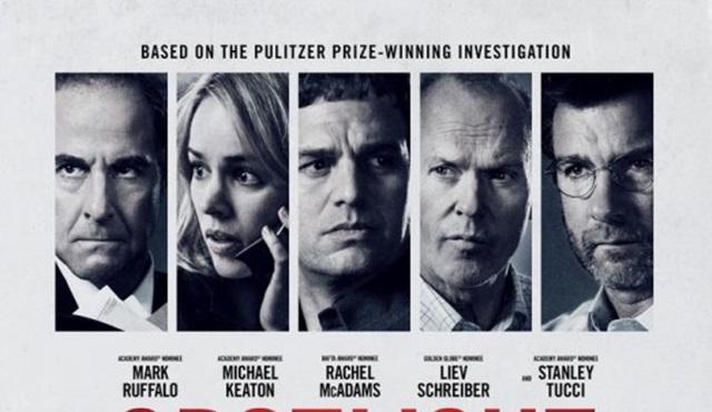 2016 En İyi Film Oscar'ını kazanan Spotlight, TV'de ilk kez D-Smart'ta!
