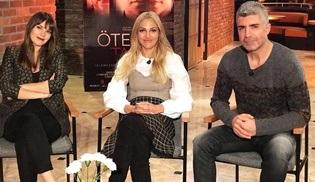 Özcan Deniz, Aslı Enver ve Meryem Uzerli, Öteki Taraf filminin özel gösterimi için Bursa'ya geliyor!