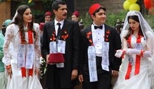 Zeyrek ile Çeyrek'e düğün dernekli final!