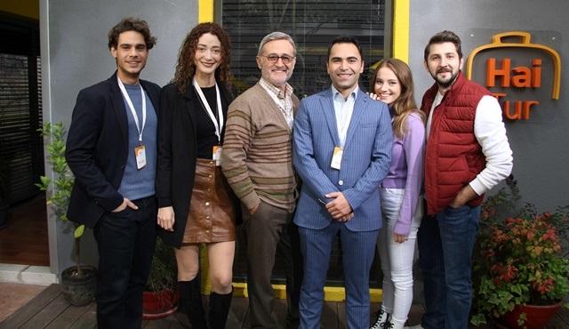 Aile Şirketi ekibi ikinci sezon çekimleri için kamera karşısına geçti!