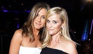Jennifer Aniston ve Reese Witherspoon yeni bir dizinin başrol oyuncuları oldular