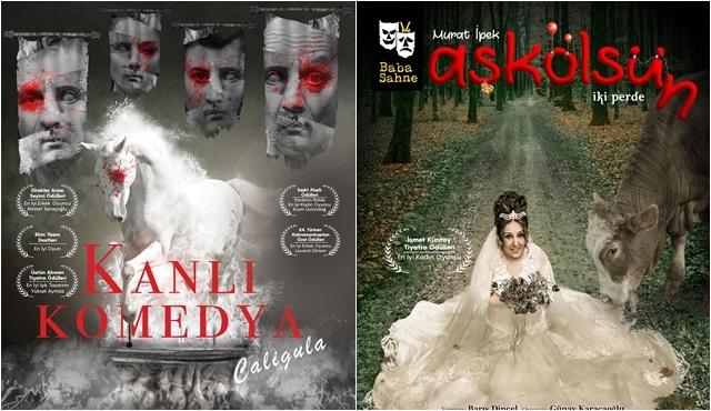 Kanlı Komedya 'Caligula' ve AşkÖlsün, sezonun son oyunlarıyla Baba Sahne'de!