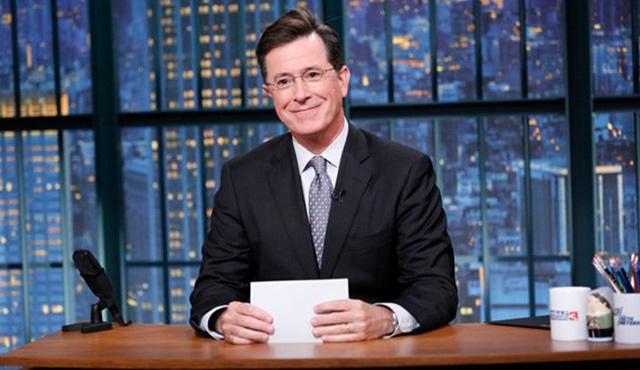 The Late Show with Stephen Colbert başlangıcı iyi yaptı