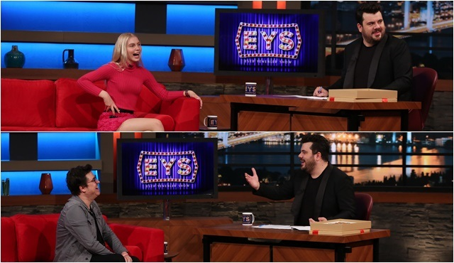 Eser Yenenler Show'un ilk bölümüne Aleyna Tilki ve İbrahim Büyükak konuk olacak!