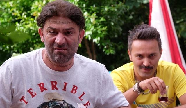 """Şevket Çoruh ve Ayçin İnci, """"Canavar Gibi Türk İşi Frankeştayn"""" filmiyle ilgili konuştu!"""