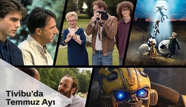 Tivibu'da, Temmuz ayı sinema keyfi dolu!