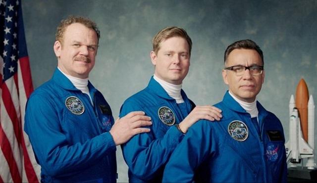 Showtime'ın yeni uzay komedisi Moonbase 8'in tanıtımı yayınlandı