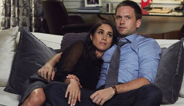 Patrick J. Adams ve Meghan Markle Suits'ten ayrılıyor