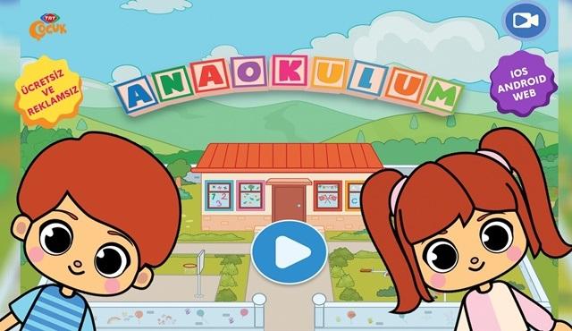 TRT Çocuk Anaokulum uygulaması ve TRT Çocuk dergisi dijital platformlarda!