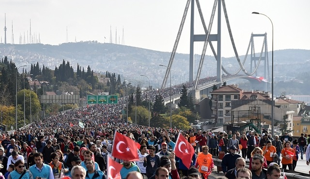 38. İstanbul Maratonu için geri sayım başladı!
