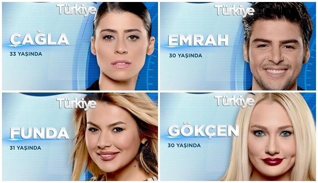 Big Brother Türkiye: Gökçen, Çağla, Emrah ve Funda. Eve kim veda edecek?