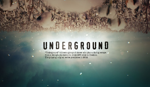 WGA America, Underground dizisini iptal etti