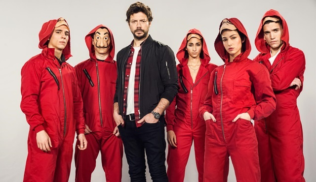 La Casa De Papel'in 4. sezonu için hazırlıklar başladı