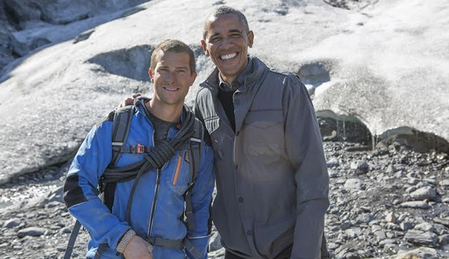 Barack Obama, Running Wild With Bear Grylls programı ile TLC'de!