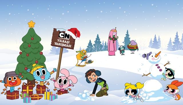 Cartoon Network'ten çocuklara yılbaşı sürprizi geliyor!