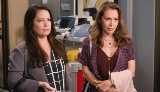 Alyssa Milano ve Holly Marie Combs, Grey's Anatomy'de yeniden bir araya geliyor