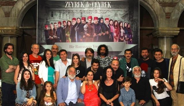 Zeyrek ile Çeyrek dizisi oyuncuları basın toplantısı gerçekleştirdi!