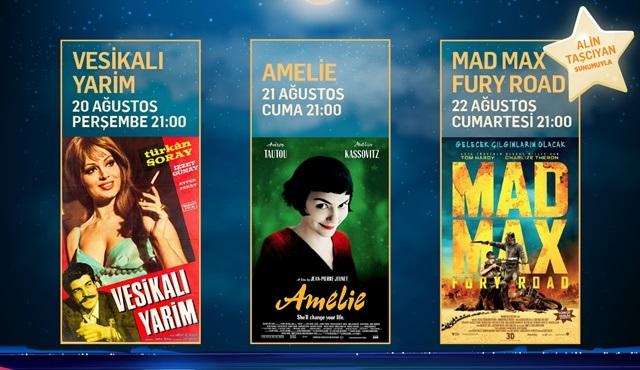 Tüm zamanların en çok izlenen yerli ve yabancı filmleri AçıkhavADA Sinema'da!