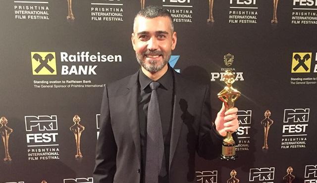 Caner Cindoruk'a Bir Ödül de  Kosova'dan geldi!