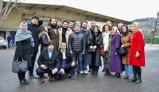 İBB Halkla İlişkiler Müdürlüğü Sosyal Kulüpler Birimi, Payitaht Abdülhamid setini ziyaret etti!