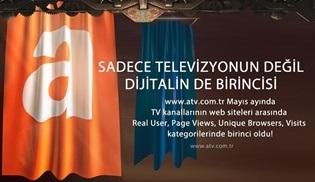 atv, en çok ziyaret edilen televizyon kanalı sitesi oldu!