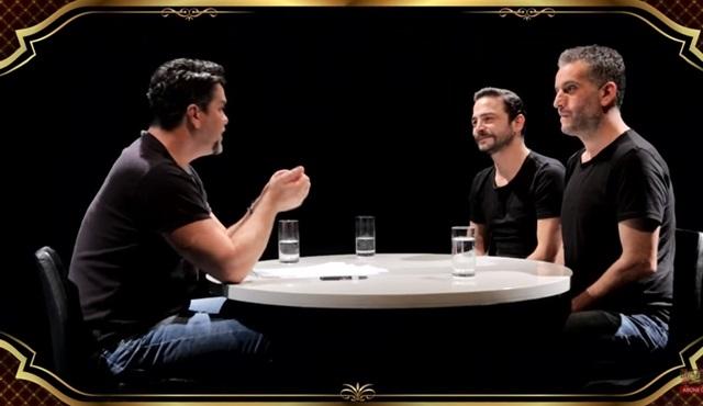 Beyaz Show: Ahmet Kural ve Murat Cemcir, Beyaz'la Göz Göze
