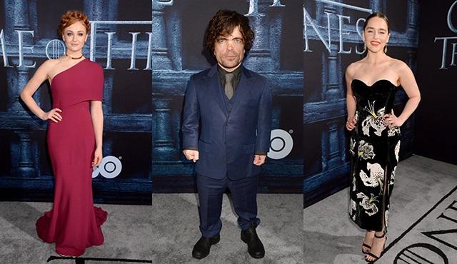 Game of Thrones galasında yıldızlar geçidi yaşandı