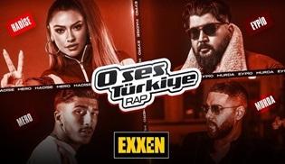 O Ses Türkiye Rap, ilk bölümüyle EXXEN'de ekrana gelecek!